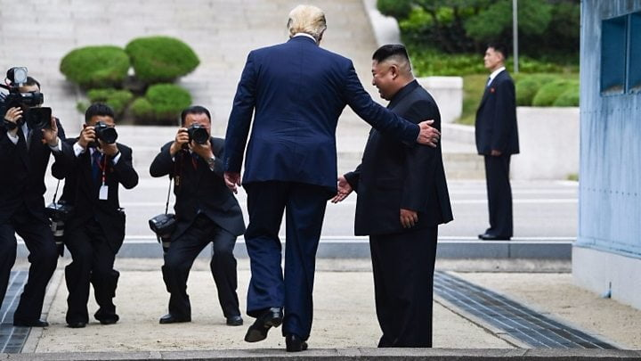 Trump, Hoping for 'Great Celebration,' Wants to Hold North Korea Talks in DMZ