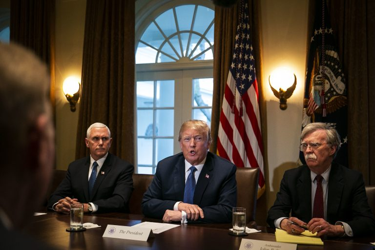 Trump: Syria strikes to deter chemical weapons use