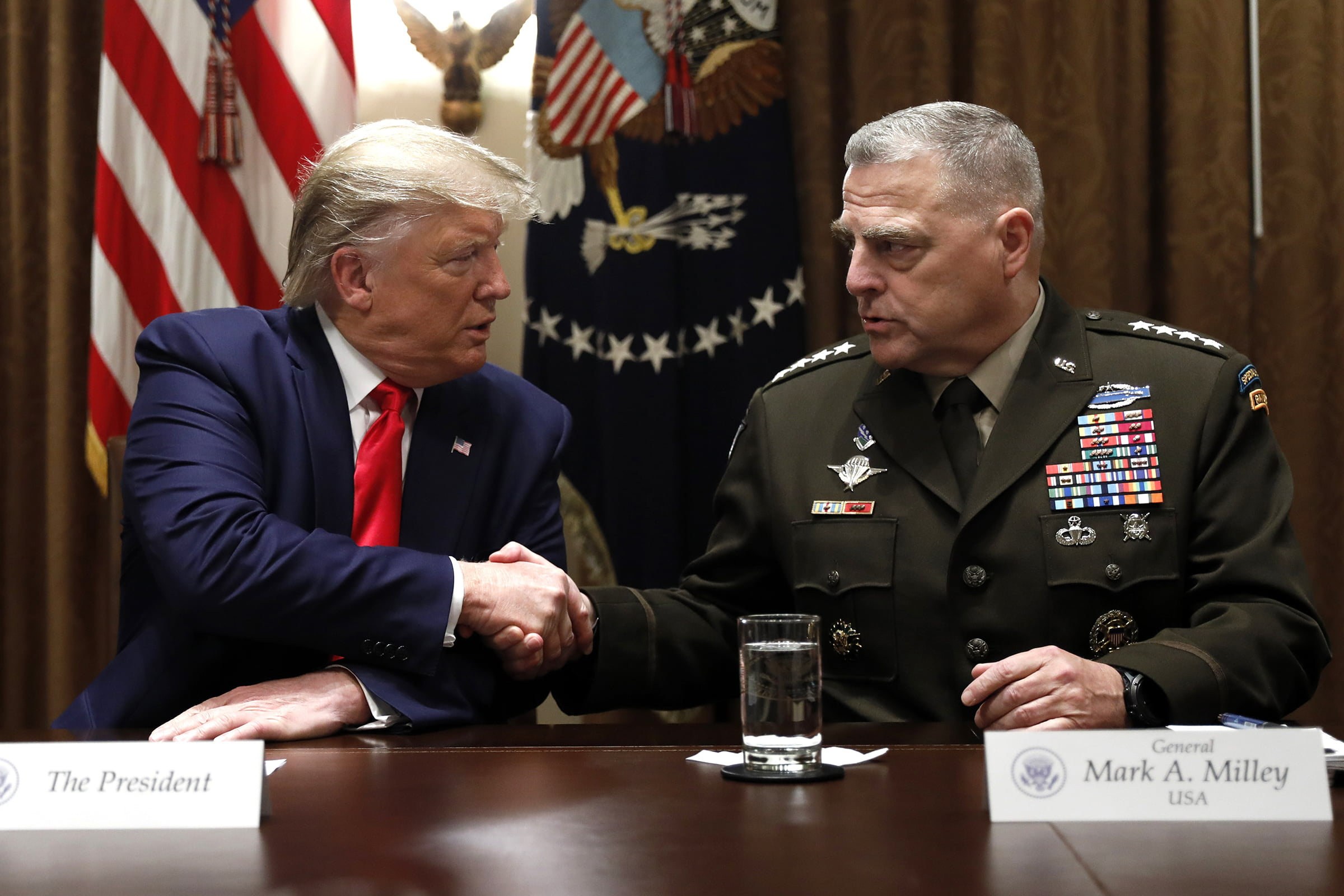 Trump's unilateral power to withdraw from treaties comes from Congress