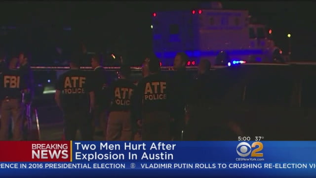 Two men injured in fourth Texas explosion