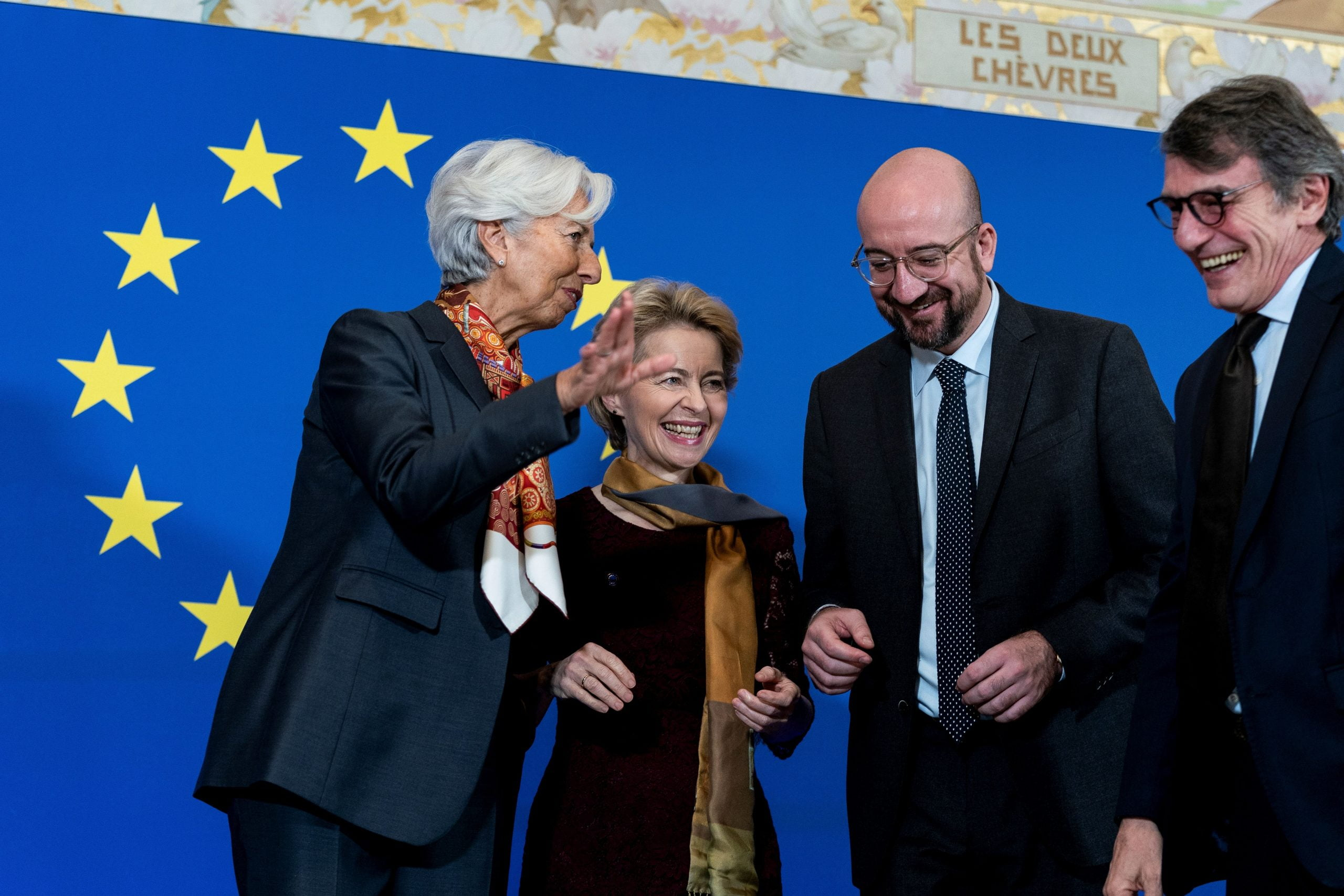 Von der Leyen, Sassoli and Michel dismiss the United Kingdom asking for a new dawn of leadership and unity to the EU