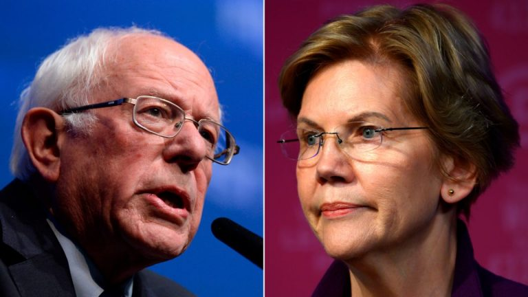 Warren says Sanders told him that a woman could not reach the White House