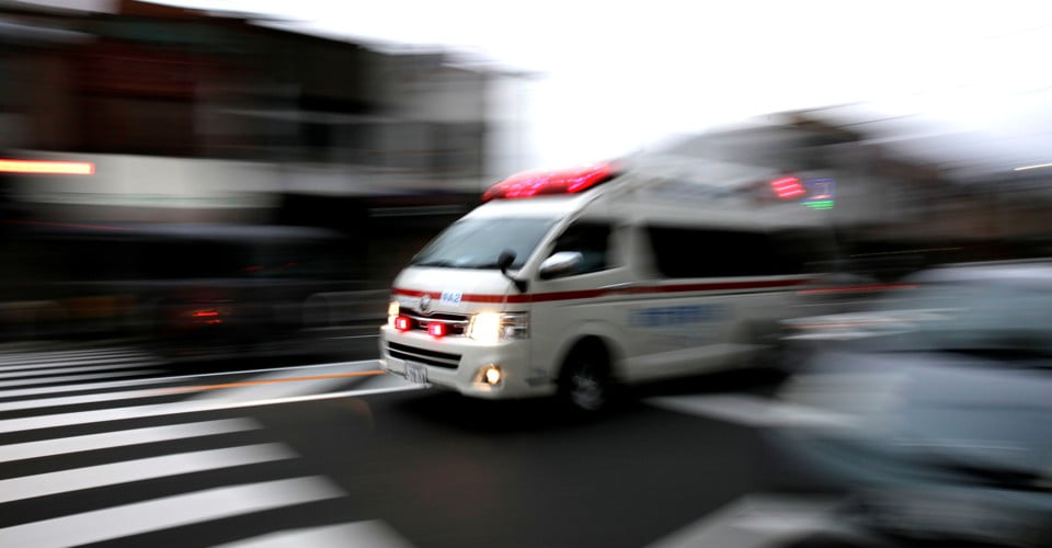 When Uber drivers replace ambulances