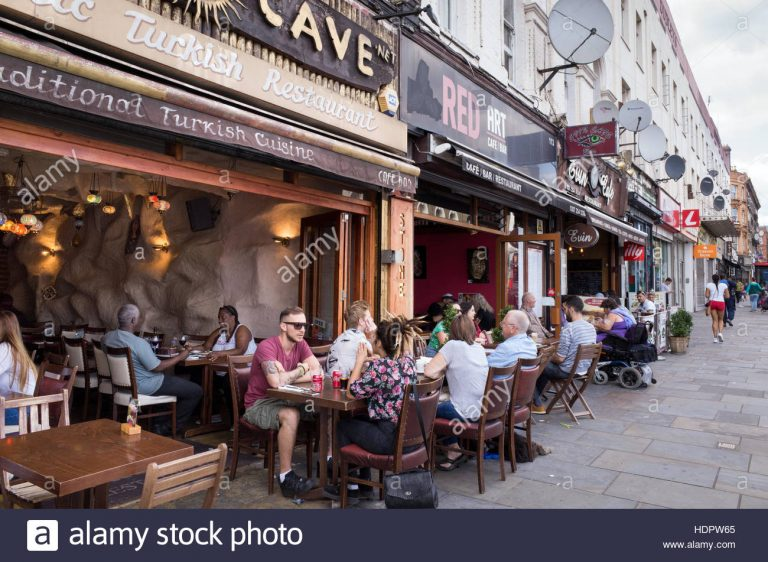 Why are High Street restaurants in trouble?