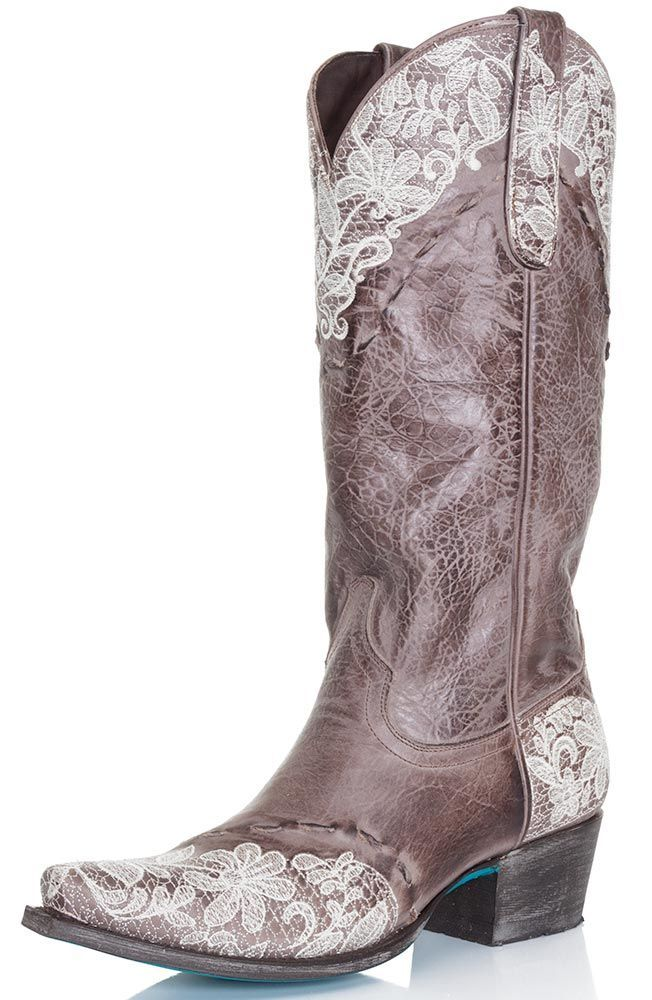 Womens Cowboy Boots With Lace