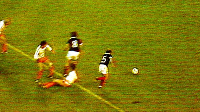 World Cup countdown: Archie Gemmill's goal against Netherlands – 1978