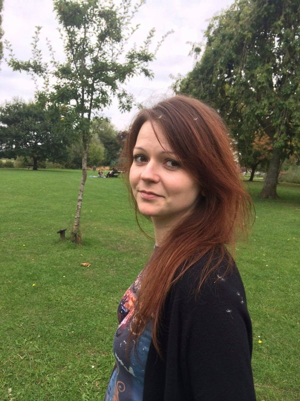 Yulia Skripal Turns Down Offer of Russian Help, U.K. Police Say