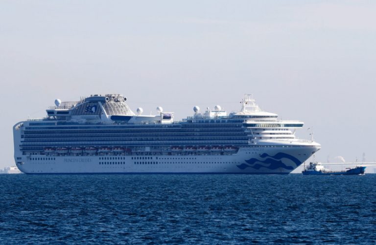 A total of 64 cases of the new coronavirus on the Japanese cruise ship with 3,700 people aboard