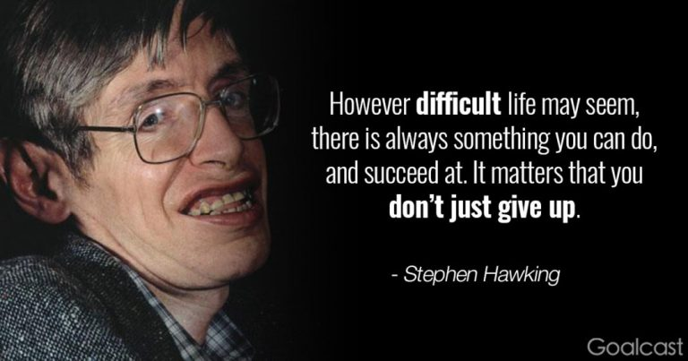 'Be curious': The best Stephen Hawking quotes