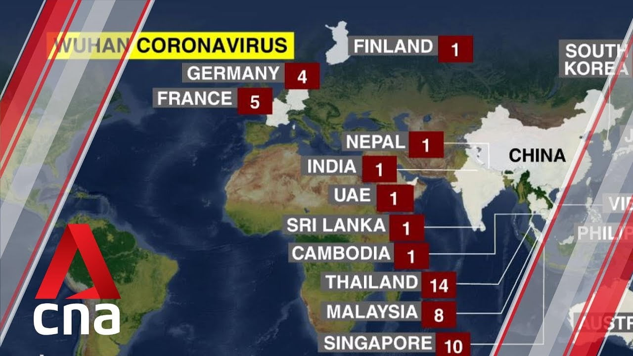 Confirm the first case of a newborn infected with the coronavirus in the Chinese city of Wuhan