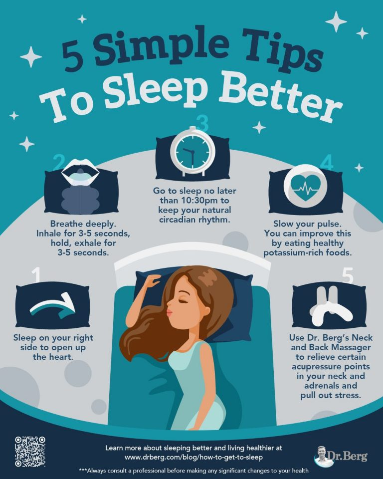 Infographic: 10 foods that will help you sleep