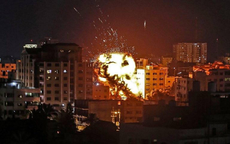 Israel denounces the launch of another rocket from the Gaza Strip