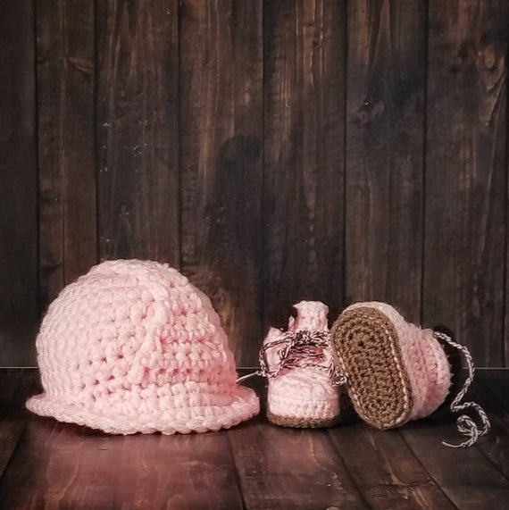 Pink Hard Hat For Baby