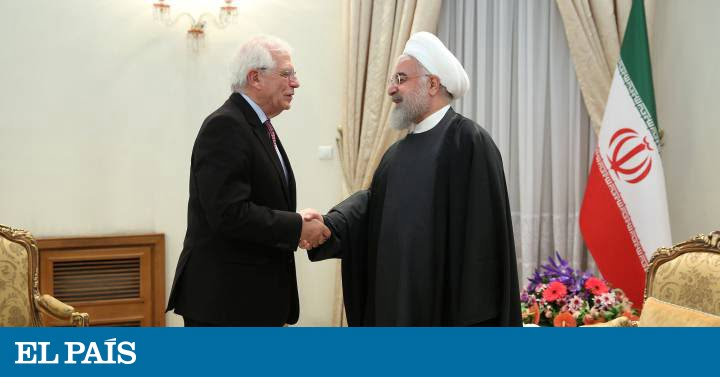 Rohani reiterates to Borrell Iran's commitment to the nuclear agreement