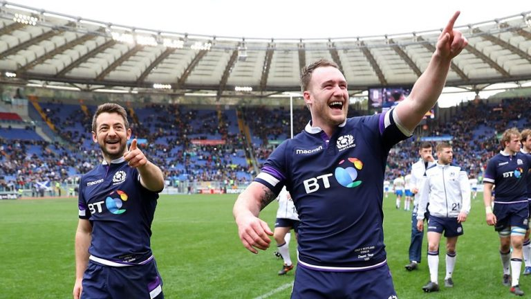Six Nations 2018: Italy 27-29 Scotland highlights