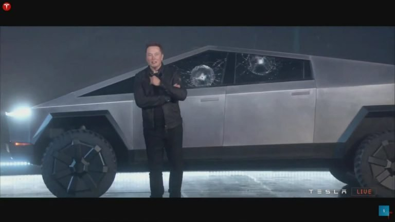 Tesla's Cybertruck stars in 'Back to the Future' scene