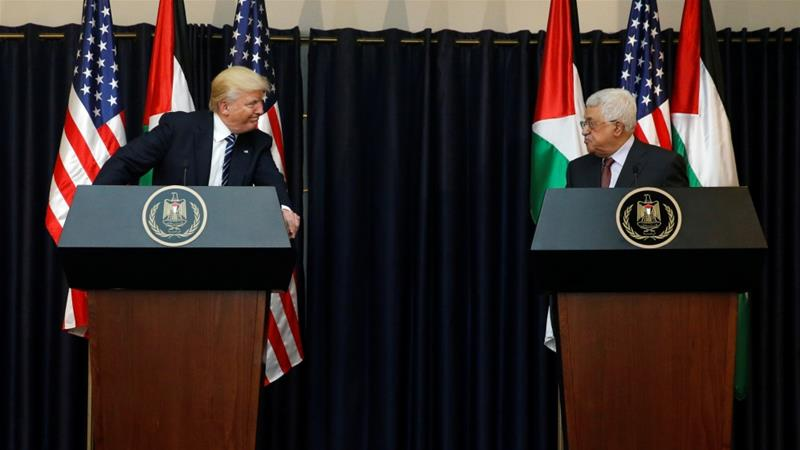 The Palestinian Authority announces the complete breakdown of relations with the United States and Israel