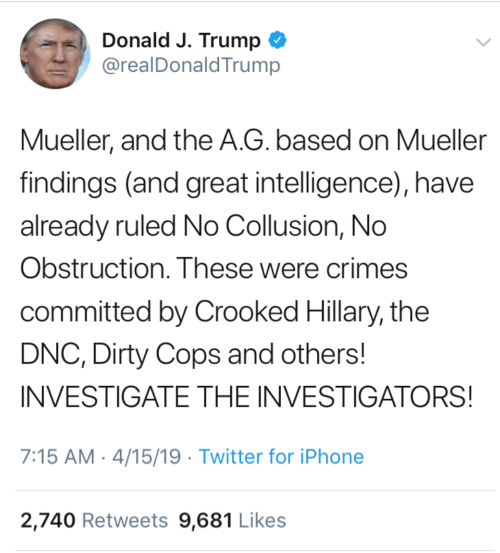 """Trump defends his """"right"""" to ask the attorney general to intercede in a criminal case"""