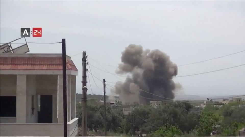 Turkish forces shoot down a helicopter from the Al Assad regime in northwestern Syria, according to the Observatory