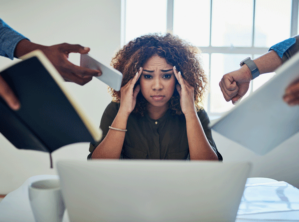 6 tips to avoid stress in the office