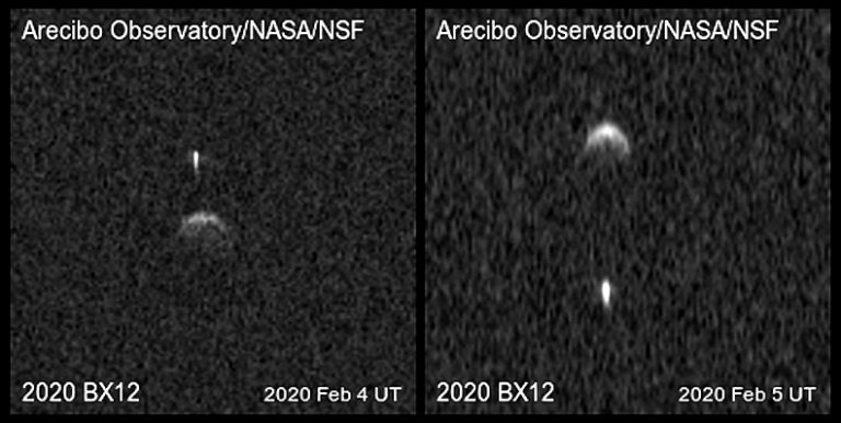 NASA observes an asteroid that will pass near Earth in April