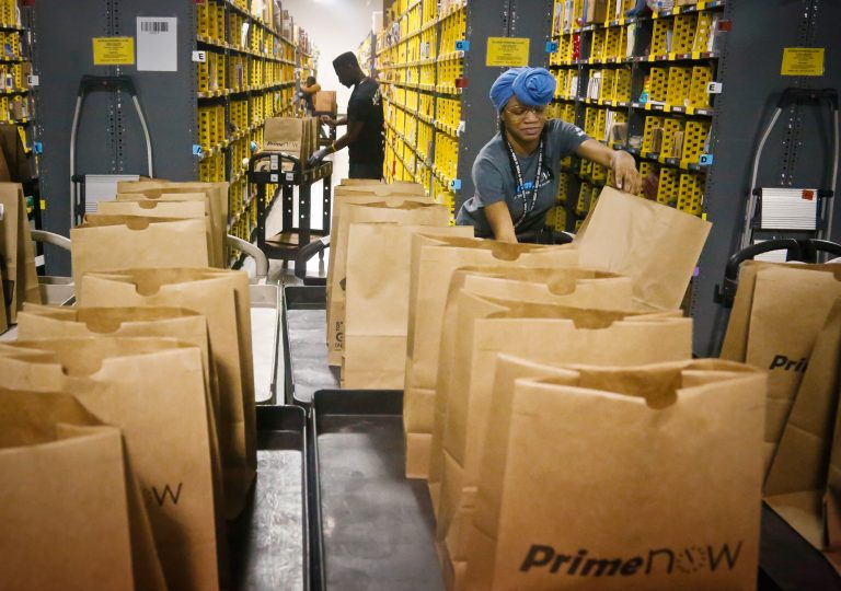 With the increase in online orders, Amazon will hire 100,000 workers