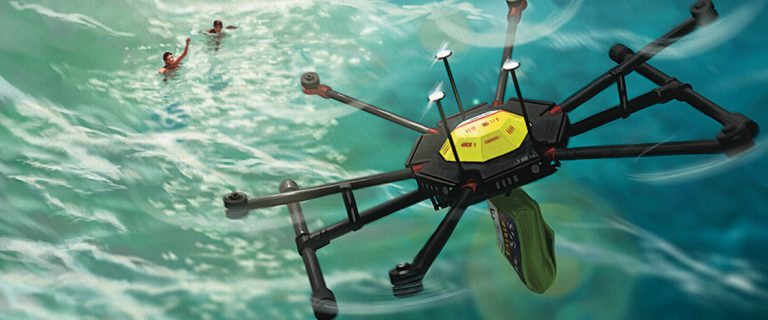 A Drone Saves Two Swimmers in Australia