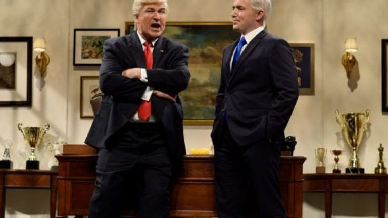 Alec Baldwin returns to 'SNL' as Trump after Twitter spat