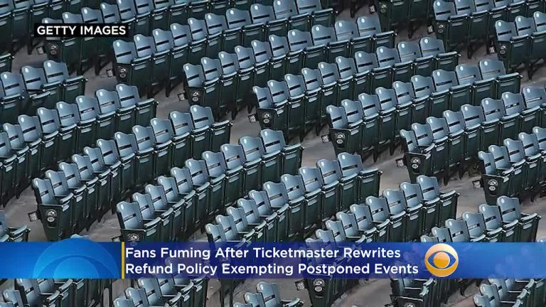 At EU Ticketmaster there will be no refunds for postponed events