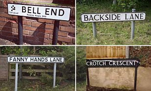 Bell End residents petition to change 'rude' name