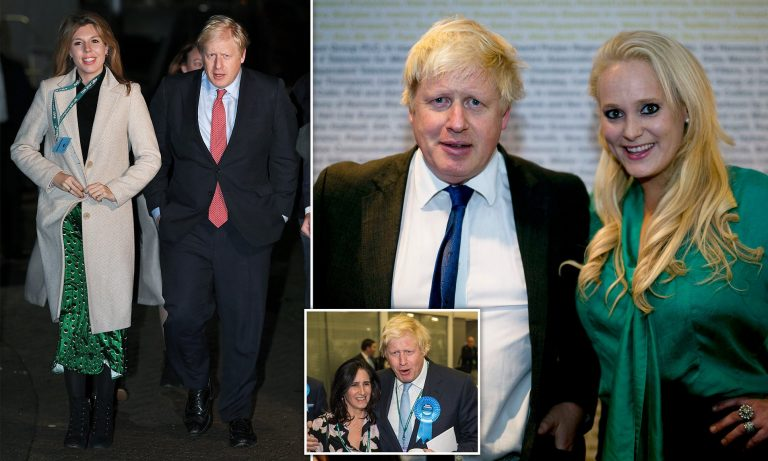 Boris Johnson and his girlfriend have their first child together