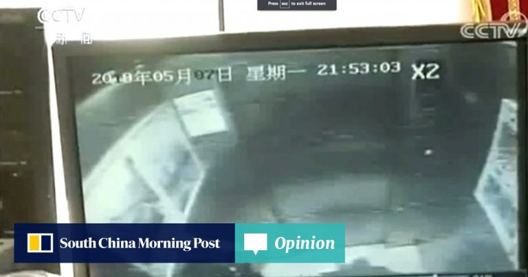 Boy trapped in lift after wee prank backfires