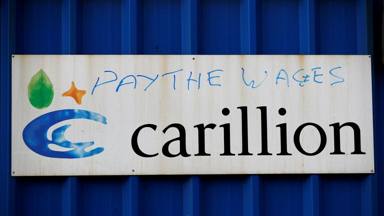 Carillion boss denied seeking 'bailout'