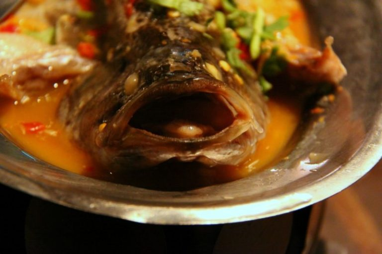 Chinese New Year food: How to get rich tossing fish