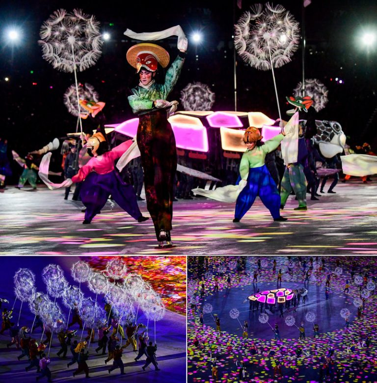 Closing ceremony highlights: Fireworks and dancing pandas