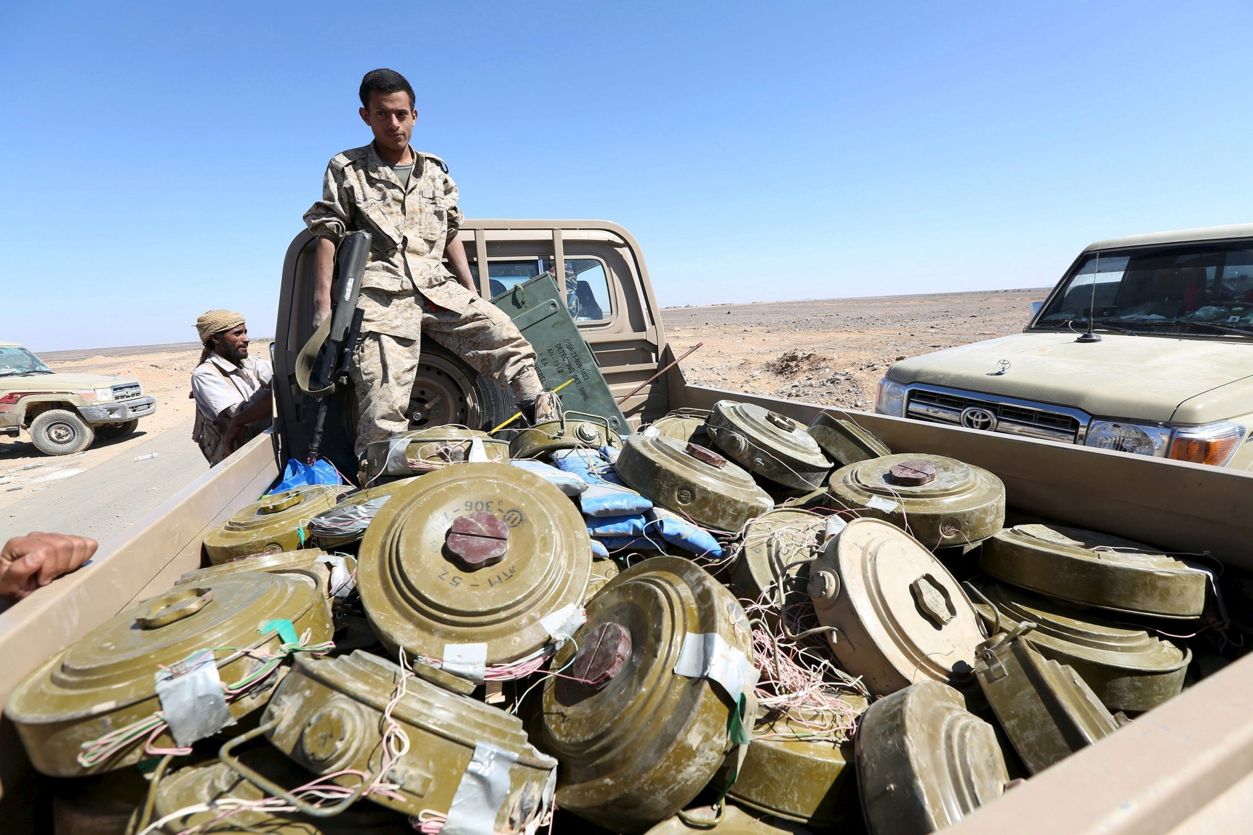 Egypt Is Using Banned U.S.-Made Cluster Munitions in Sinai, Rights Group Says