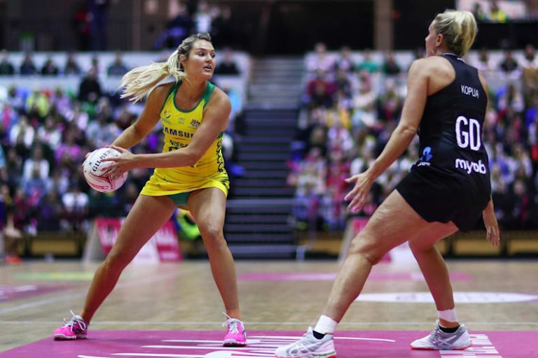 England netball secrets: Wing attack, winning and wedgies