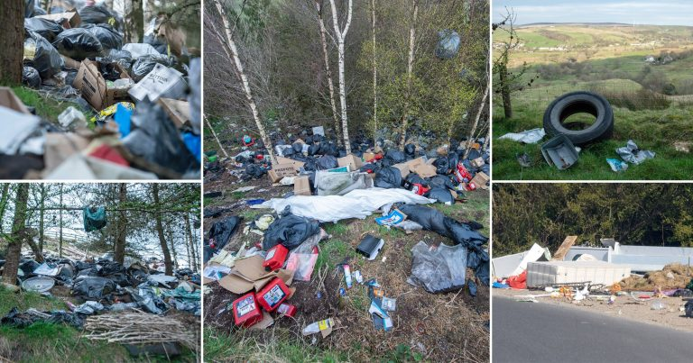 Fly-tipping up as prosecutions go down