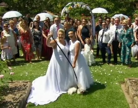 Gay marriage: First couples wed in Australia