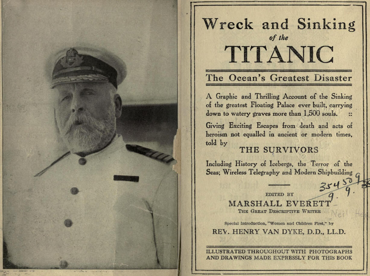 Great-grandson of one of the richest men in the United States visits the cabin of the Titanic where his ancestor sank