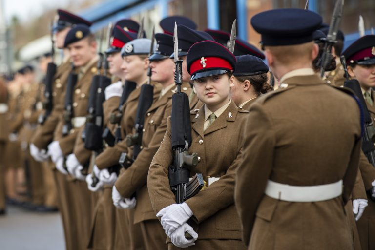Harrogate: Inside the British Army's training camp for 16-year-olds
