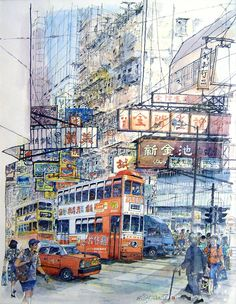Hong Kong art: Miniature art shows disappearing Hong Kong
