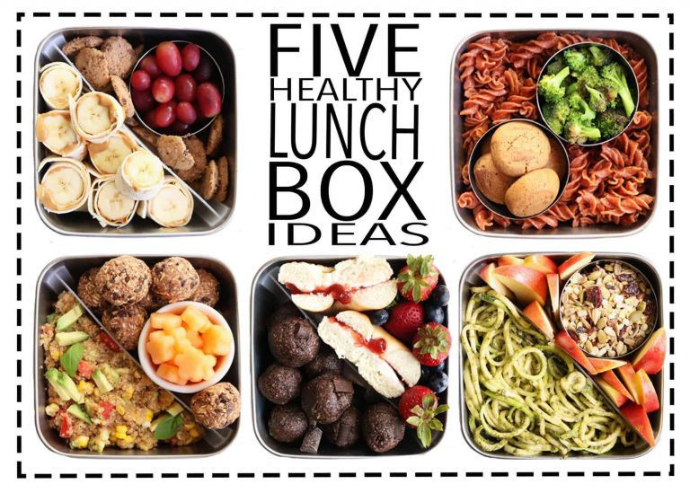 How to make your lunchboxes healthier