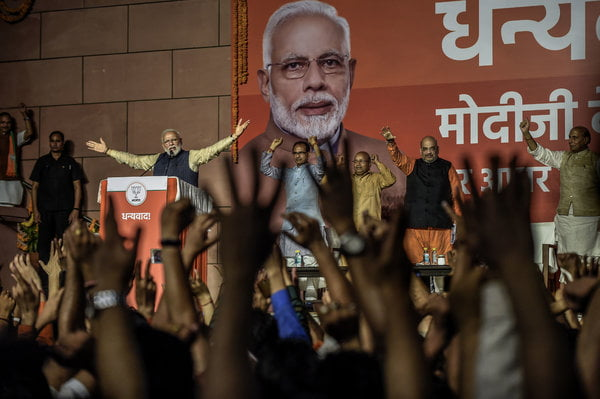 In India, Modi's Party Shows Its Might in State Elections