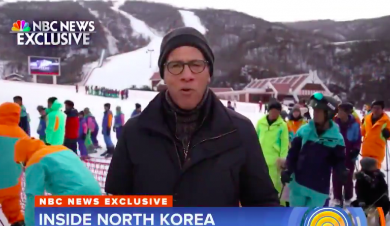 Lester Holt reports from inside North Korea as it prepares for the Olympics