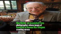 Max Desfor, 104, War Photographer at Midcentury, Is Dead