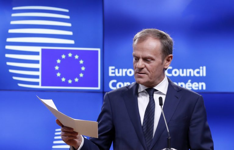 May and Tusk to discuss post-Brexit trade deal
