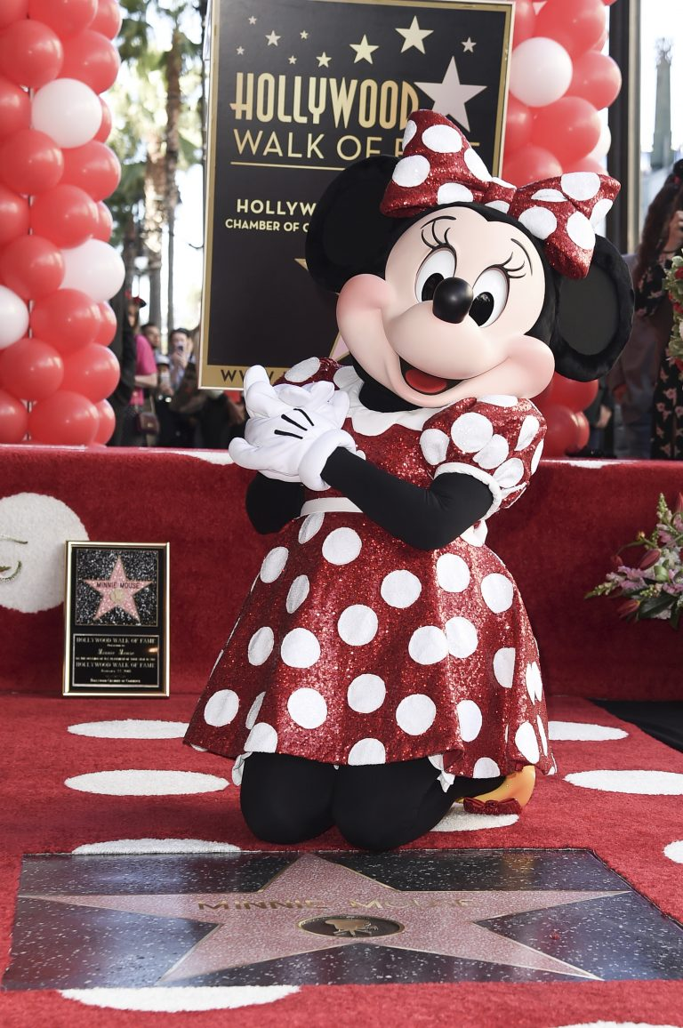 Minnie Mouse honoured with Hollywood Walk of Fame star