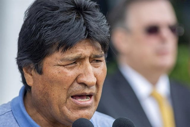 "Morales calls the OAS ""neo-coup"" and warns other leaders: ""Take care of the OAS"""