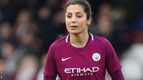 Nadia Nadim: From fleeing Afghanistan to playing for Manchester City